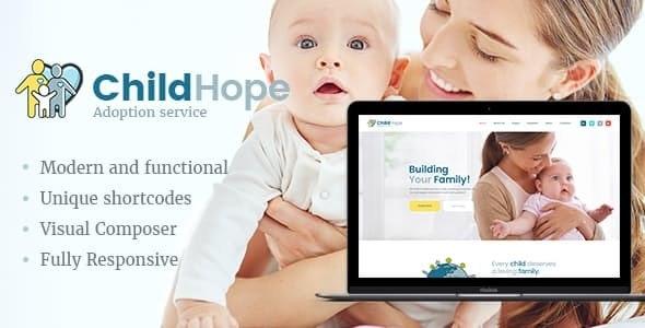 ChildHope - 收容所慈善非营利WordPress主题-创客云