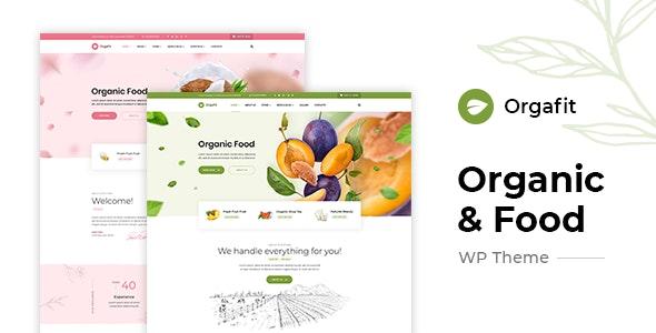 OrgaFit - 绿色有机健康商品商店WordPress主题-创客云