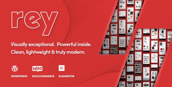 Rey -服装家具商品商店WordPress模板 – v1.2.4