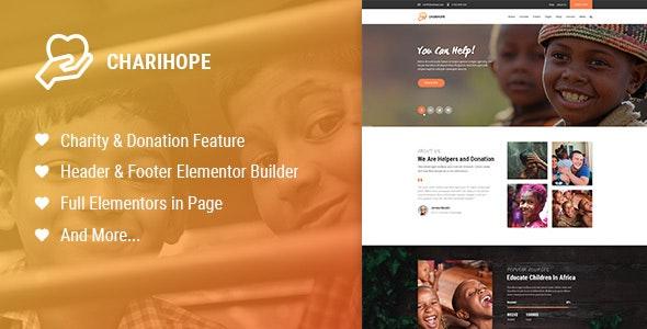 ChariHope - 慈善公益捐赠WordPress主题-创客云