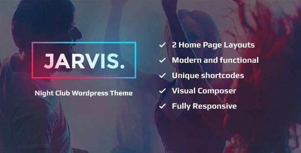 Jarvis - 夜总会音乐会WordPress主题-创客云