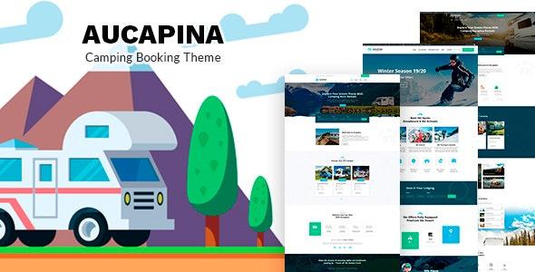Aucapina - 房车销售租赁网站WordPress主题-创客云