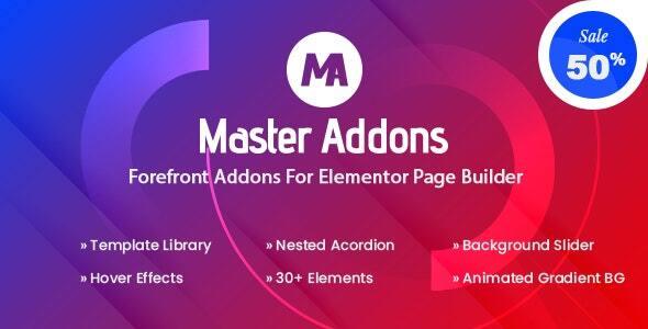 Master Addons for Elementor (Pro)  可视化编辑器扩展插件-创客云
