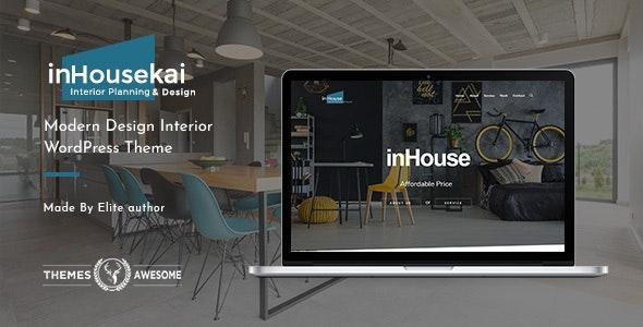 Inhousekai – 室内设计装修公司网站WordPress主题 – v1.3