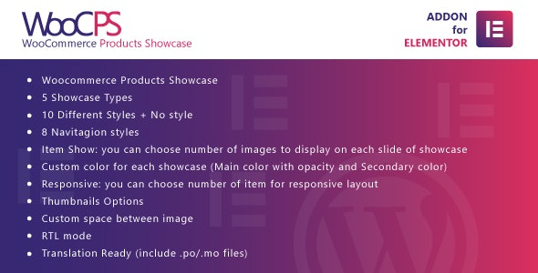 WooCommerce Products Showcase for Elementor - 商品展示WordPress 插件-创客云