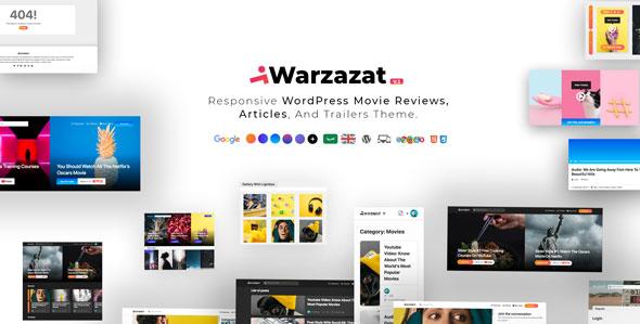 Warzazat - 电影评论预告片WordPress主题-创客云