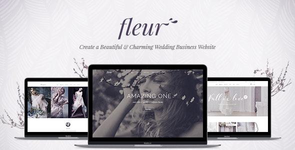 Fleur - 婚礼策划婚庆网站WordPress模板-创客云