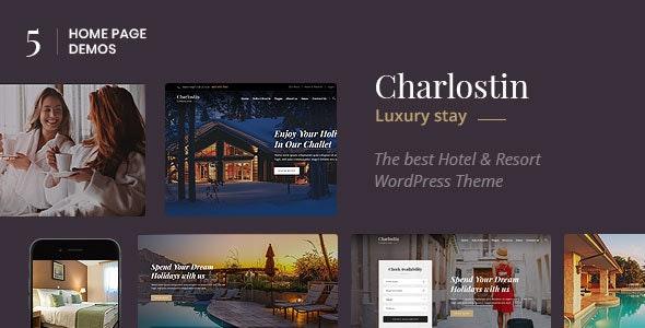 Charlostin - 酒店度假村预订网站WordPress主题-创客云