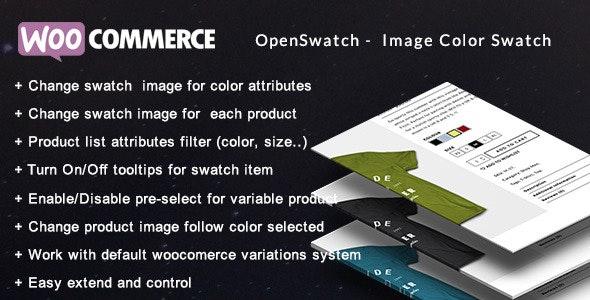 Openswatch - Woocommerce可变熟悉转换图片插件-创客云