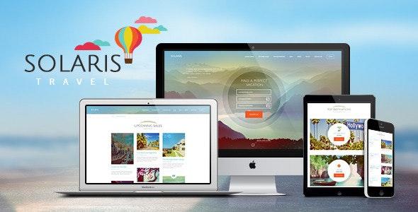 Solaris - 旅行社旅游预订wordpress主题-创客云