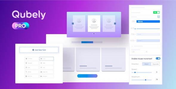 Qubely Pro 古腾堡编辑器Gutenber扩展插件-创客云