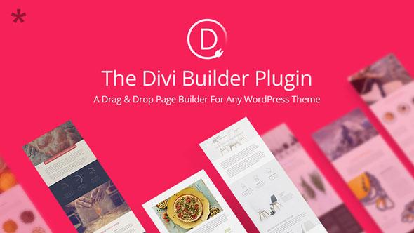Divi Builder - 拖拽式页面构建器插件-创客云