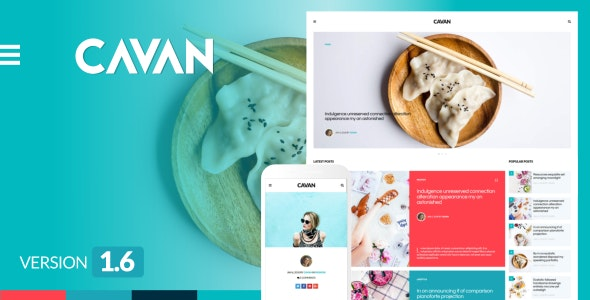 CAVAN - 创意与众不同WordPress博客主题-创客云