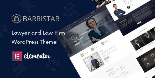 Barristar -法律律师事务所WordPress主题-创客云