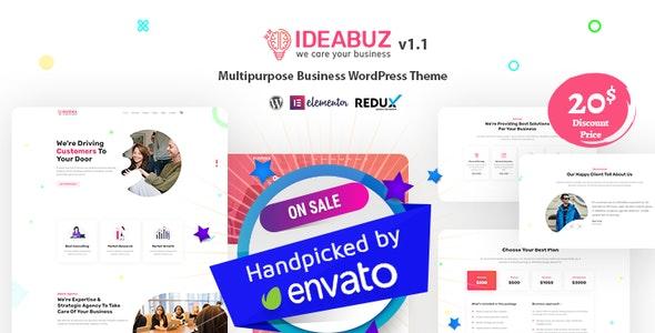 Ideabuz – 多功能商务网站WordPress主题 – v1.1