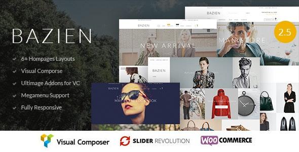 Bazien – 多行业在线商店WordPress模板 – v3.0.0