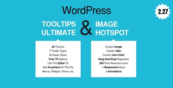 WordPress Tooltips Ultimate & Image Hotspot 提示信息工具TIP插件-创客云