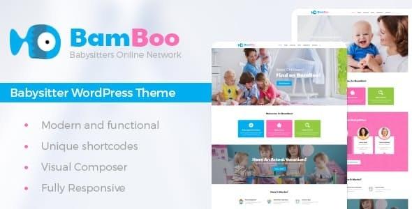 BamBoo - 儿童保育保姆WordPress主题-创客云