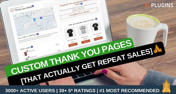 WooCommerce Thank You Page 购买成功感谢页面WordPress插件-创客云
