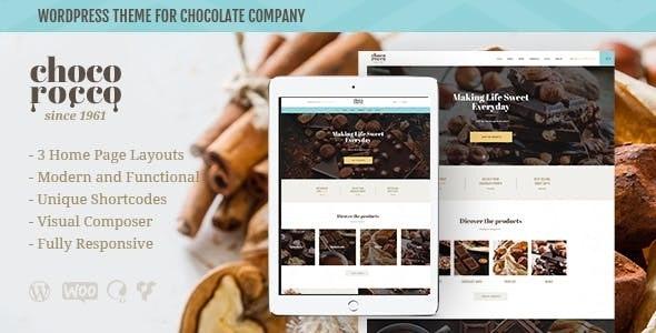 ChocoRocco - 糖果巧克力WordPress主题-创客云