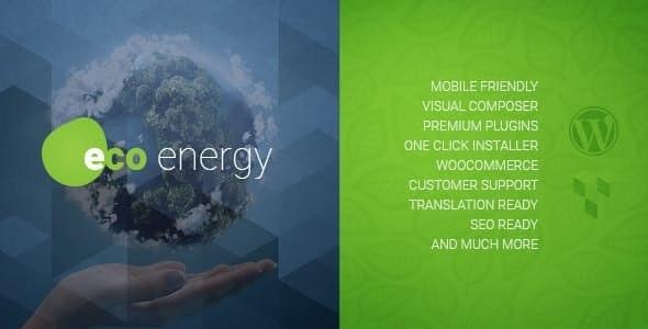 ECO Energy - 生态环保能源公司WordPress主题-创客云