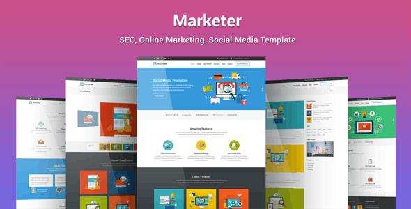 Marketer - SEO搜索引擎优化营销WordPress主题-创客云