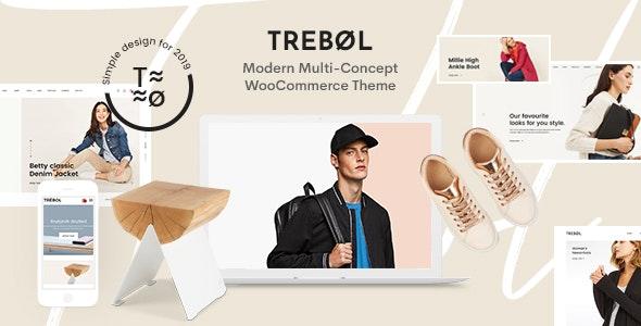 Trebol - 现代多概念电商模板WooCommerce主题-创客云