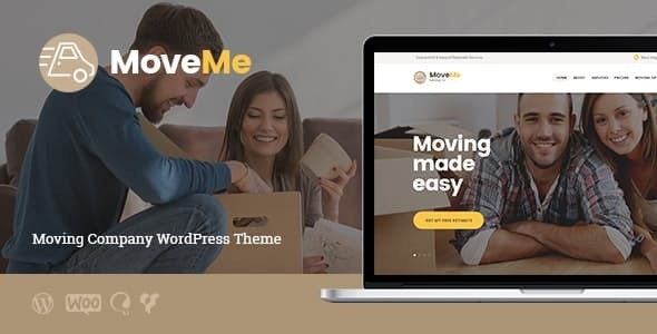 MoveMe | 物流存储维护WordPress主题-创客云