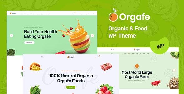 Orgafe - 有机食品wordpress主题-创客云