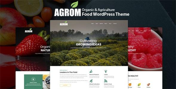 Agrom – 有机农业食品WordPress主题