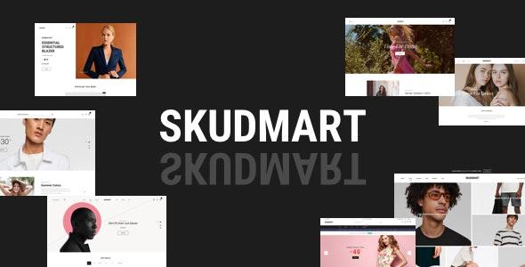 Skudmart - 简洁轻型商店模板WooCommerce主题-创客云