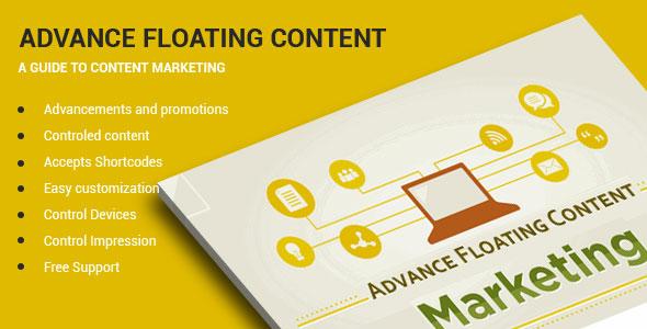 Advanced Floating Content 高级内容浮动WordPress插件-创客云