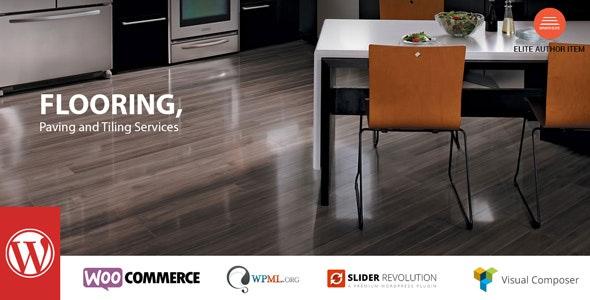 Flooring - 瓷砖建材施工WordPress模板-创客云