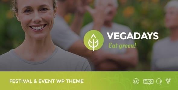 VegaDays - 美食节素食WordPress主题-创客云