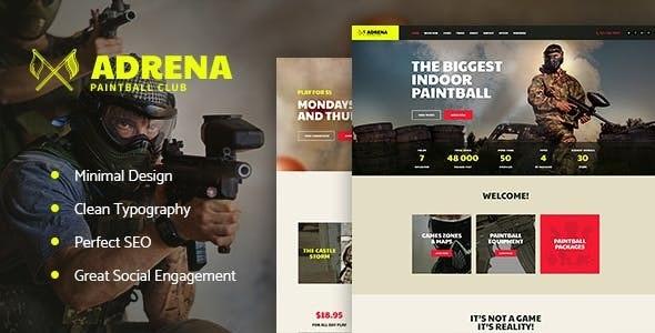 Adrena - 游戏装备商店WordPress模板-创客云