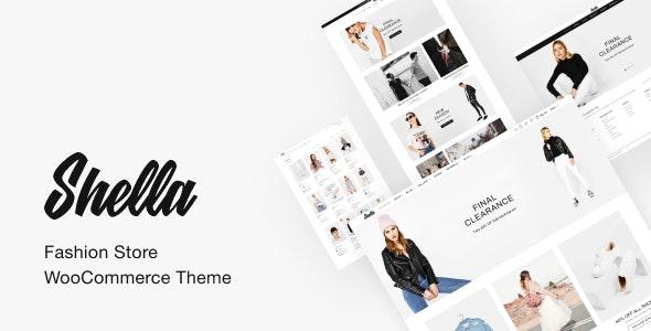 Shella - 创意服装在线商店WooCommerce主题-创客云