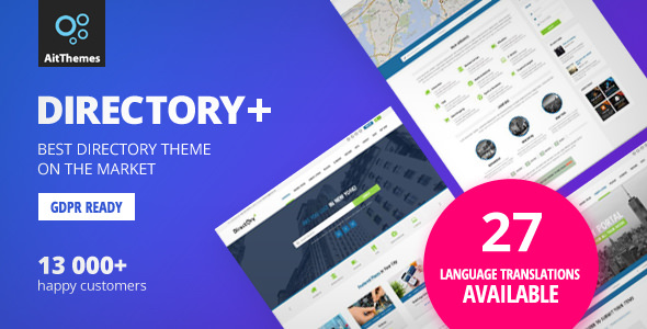 Directory - 商家目录网站模板WordPress主题-创客云