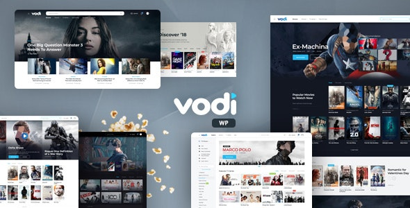 Vodi - 电影视频网站模板WordPress主题-创客云