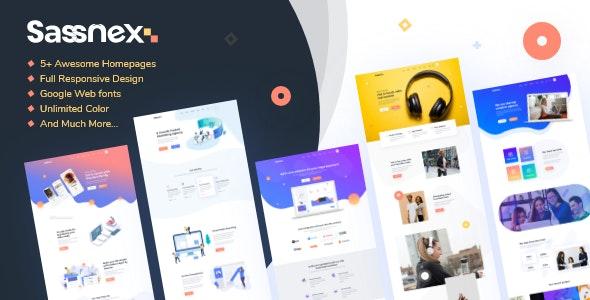 Sassnex - SaaS和Startup应用程序WordPress主题-创客云