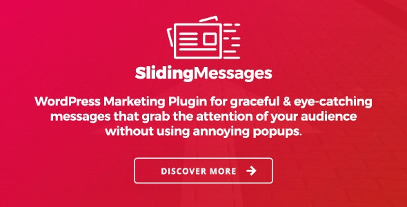 Sliding Messages - 弹窗消息营销WordPress插件-创客云