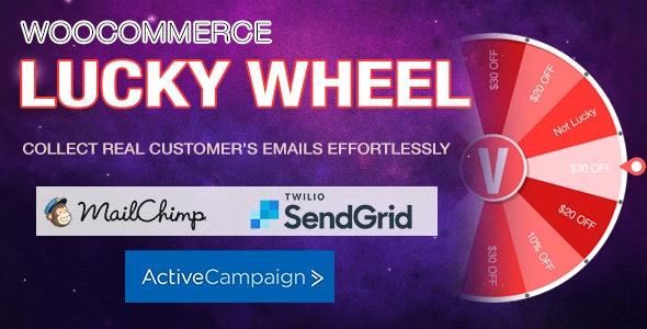 WooCommerce Lucky Wheel - 幸运大转盘抽奖WordPress插件-创客云