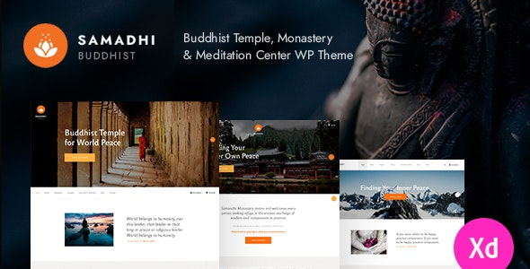 Samadhi - 东方佛教寺庙网站WordPress主题-创客云