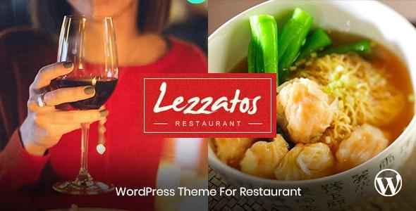 Lezzatos - 餐厅美食网站模板WordPress主题-创客云