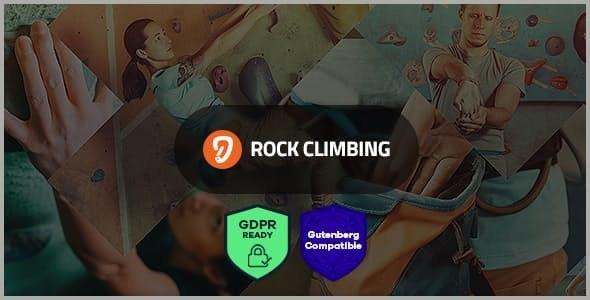 Rock & Wall Climbing - 攀岩运动俱乐部wordpress主题-创客云
