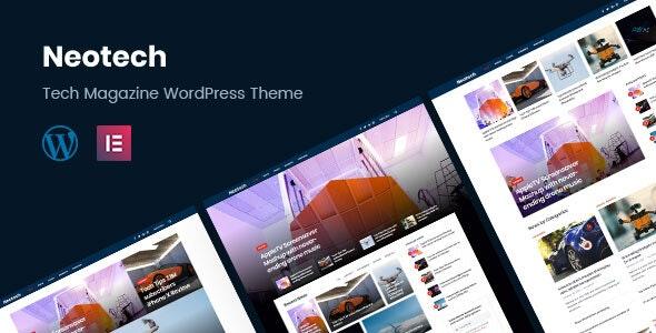 Neotech - 可视化编辑新闻杂志WordPress主题-创客云