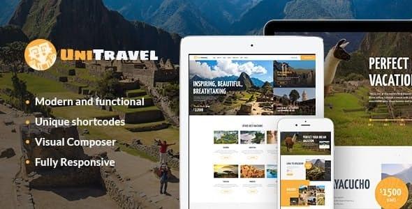 UniTravel - 旅行社旅游局WordPress主题-创客云