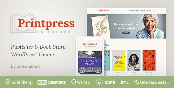Printpress - 印刷出版社WordPress主题-创客云
