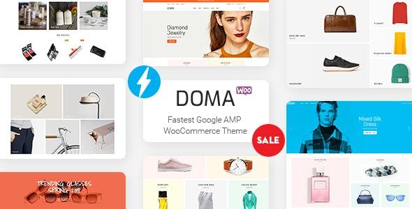 Doma - Google AMP 多供应商WooCommerce主题-创客云