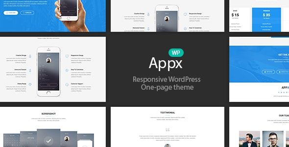 Appx – 移动App应用程序展示WordPress主题 – v1.2.5