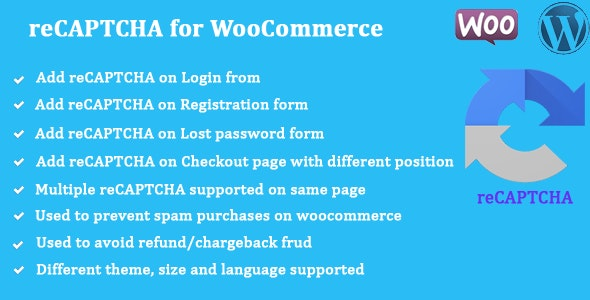 reCAPTCHA for WooCommerce 商店注册登录验证码插件-创客云